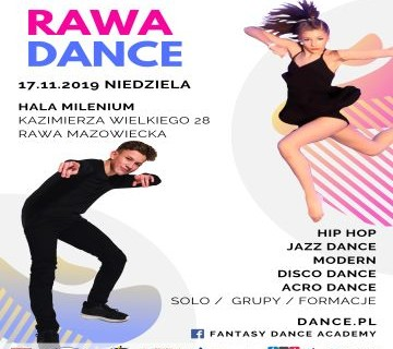 I OTTN Rawa Dance 2019 - program turnieju